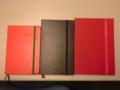 [satomilogy]来年の手帳(一番右の)。かなりでかい。