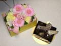 [buntaro]お花とケーキ