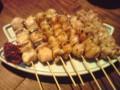 [buntaro]松山風の焼鳥。美味しい!!