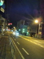 名古屋にむけて出発まだ真っ暗