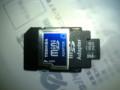 2GB 480円だけど携帯古すぎて1GBしか認識しない。