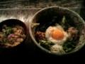 BoAちゃん行きつけのお蕎麦屋さんで納豆ぶっかけそばを食べて来ました