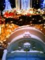 今日行った新宿のイタリアンの店がクリスマスちっくでゴージ ャスで