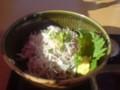 富士と穏やかな相模湾を眺めつつしらす丼 イマココ! L:Kanagawa  PrefectureFu