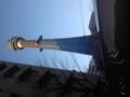 マリンタワーは工事中。