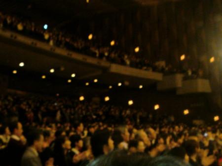 観客総立ち