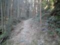 熊野古道なう。超酷道w