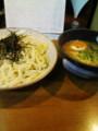 [acfnoid]麺屋青山@成田。つけ麺久々に食べたけどやっぱり微妙だな。