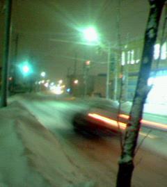 いい感じに雪が降ってきて心地よく聴いてました。しかし、今年雪少な
