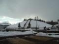 雪山なうw