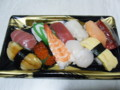 [夕食]半額の寿司 399 円