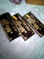 この時期に板チョコ3枚も買ったら普通はバレンタインの手作りチ ョコ