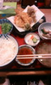 [ななん][ごはん] 天ぷら定食 750円
