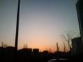 とても夕焼けなのだ