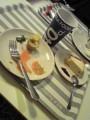IKEAでサーモンマリネとチーズケーキ(*´ω`*)