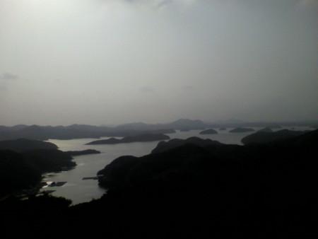烏帽子岳からの眺め