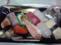 [夕食]寿司(半額399円)