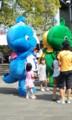 ドリー(緑)とリリー(青)となんとかリー(黄)