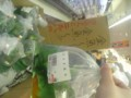 スーパーに金魚が売ってた!