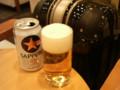 福岡に帰ってきました。空港のラウンジでビール飲んでから帰宅します