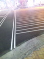 塗りかけの横断歩道ってかっこいいんだね