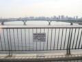 晴海大橋から建設中の豊洲大橋、レインボーブリッジを見る (from DSC-G3)