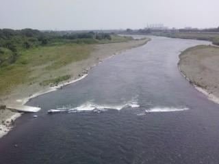 戸田橋上空 風が心地良い