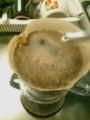 コーヒーは自分でいれるんですよ