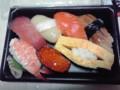 [夕食]寿司(295円)