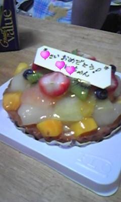 妹が誕生日なのでこれからケーキ食べるよー