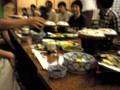 夕食だあ!