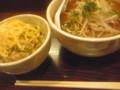 刀削麺なう