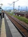 改札のない単線の駅。都市部に住んでると滅多に載らない。旅 気分〜