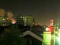 火事近い。自宅から煙が見える。写真にも煙が写った。
