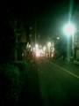 眠れないので夜の散歩ー