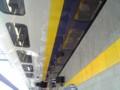 2階建ての新幹線に乗ってるー