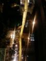 松屋町筋千日前事故で渋滞中