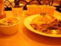 [chch]ナッシュカリー、野菜たっぷり、ホントにうまい。カレー食べてここま