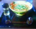 redribabarn流、夏バテ必勝法:味の民芸編1  黒酢スーラースープうどんを