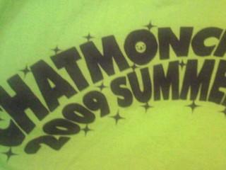 今日、チャットモンチーの夏フェスTシャツ着てたけど、よく考えると