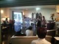 柿ノ木のF邸宅でホームコンサート。ビバルディからバッハへと佳境に