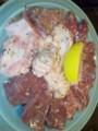 焼肉部活動なう。仕事後の肉は最高!赤坂大関で牛半分食べてます ♪
