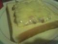 納豆マヨチーズトーストなう