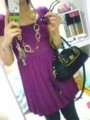 today's outfit :) the bag is from coach.