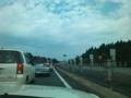 東北道 水沢IC手前 渋滞 全く動かない…