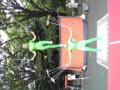 上野公園ヘブンアーティストを観賞。雑技団オモロイ。