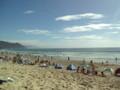 海なう!暑い!