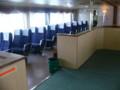 能美島行きのフェリーがすごい豪華な船内。これなら620円払ってもいい