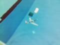 水中グライダー 浮力と錘と揚力のバランスで水中を走るグライダー。