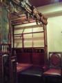 お昼食べた上海料理店がすごいいい雰囲気だった!